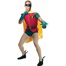 Rubies Costume Grand Heritage Robin Classic TV Batman Circa 1966, Multicolor