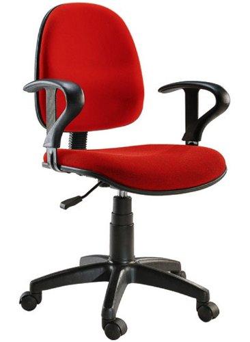 Offerte Sedie Per Ufficio.Sedia Per Ufficio Easy Colore Rosso Amazon It Elettronica