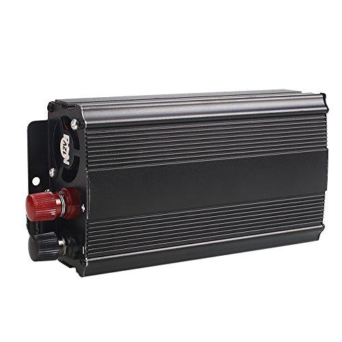Sedeta 4000W Power Inverter DC 12V to 220V AC vehicle power banks for camping USB Battery Charger Converter Black