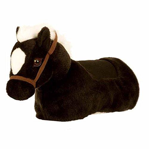 Riding Animal ZRB002S, Maharadscha-Baby Horse Riding Toy, Black