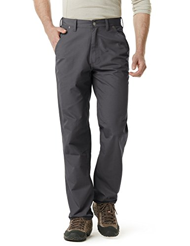CQR Men's Work Rip-Stop Tactical Utility Operator Pants EDC, Utility(twp301) - Charcoal, - Uniform Tactical Mens