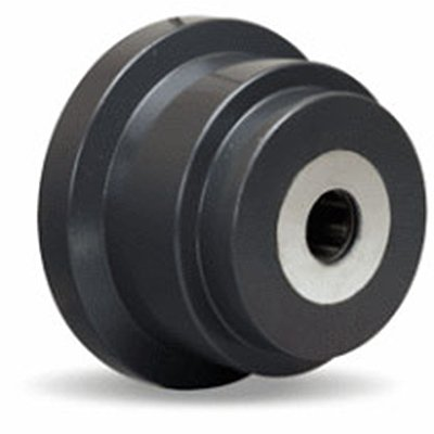 Single Flanged Track Wheel 4-1/2'' Diameter x 1-5/8'' Face x 3-1/4'' Hub Length with 1'' Roller Bearing