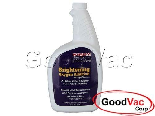 Kirby 32oz Brightening Oxygen Additive Agent for Carpet Shampoo Berber Color. Part Number: 228609 by Kirby