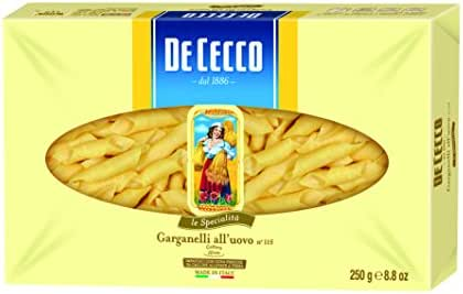 Pasta: De Cecco Egg