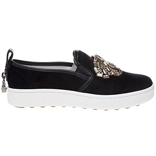 Coach C115 Crystal Bow Shoes Black Black find great online big sale cheap online latest online sale big sale jxBVn7