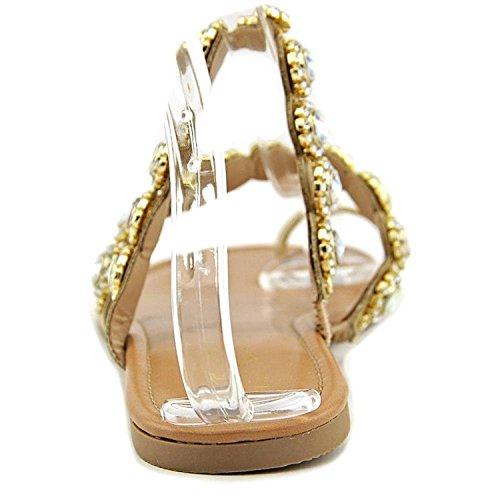 Thalia Sodi Womens joya Open Toe Casual Slide Sandals Nude EWOul2JIO
