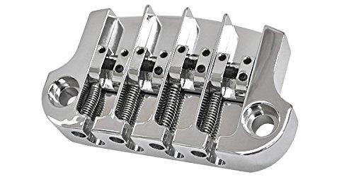 HIP SHOT ヒップショット ベース用ブリッジ 3 Point Super Tone Bass Bridge Chrome B01MY8KRJU