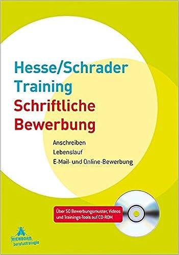 Hesseschrader Training Schriftliche Bewerbung Anschreiben Jürgen