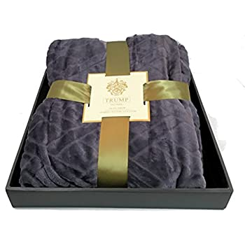 Amazon Com Trump Home Jacquard Velvet Oversized Throw X