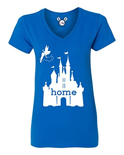 disgear-womens-disney-is-my-home-v-neck-t-shirt-small-royal-blue