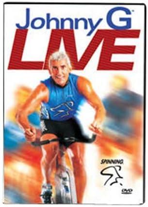 SPINNING® Fitness DVD Johnny G Live - Bicicletas estáticas Fitness (Interior), Color n/a, Talla NA