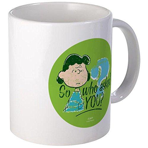 CafePress Lucy Van Pelt Mug Unique Coffee Mug, Coffee Cup