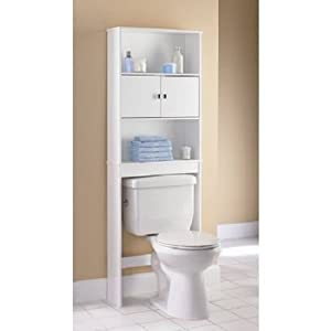 Amazon Com Mainstays Wood Spacesaver White Office Products