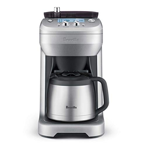 Breville the Grind Control BDC650BSS Coffee Maker w/Built-In Adjustable Burr Grinder – Stainless Steel