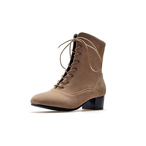 Womens Slip BalaMasa Fashion ABL10198 Rosered Resistant Urethane Boots pR7Bfq