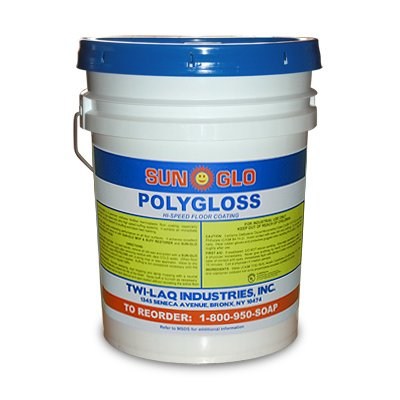 Polygloss - Urethane Fortified Floor Finish - 5 Gallon Pail