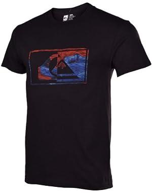 Men's Speak Easy Graphic T-Shirt-Black