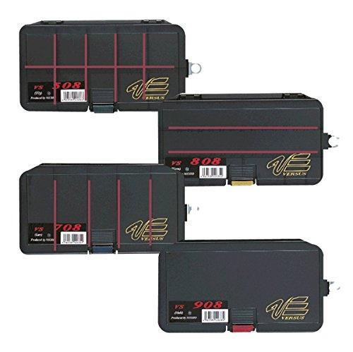 Meiho Versus Tackle Box VS 904 161 x 91 x 31 mm Black (6281)