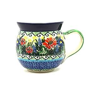 Polish Pottery Mug – 15 oz. Bubble – Unikat Signature U4610