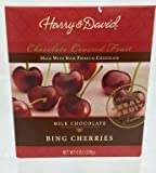 Harry and David, Milk Chocolate Cherries, 8 ounces.