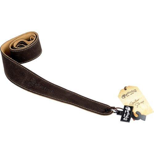 Martin 18A0017 2.5'' Brown Suede Guitar Strap by Martin