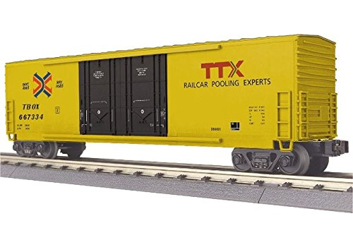 MTH MTH3074850 O-27 50' Double Door Plugged Box, TTX