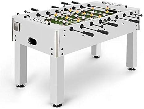 Klarfit Maracana White Edition - Mesa de futbolín , Mesa de Multi ...