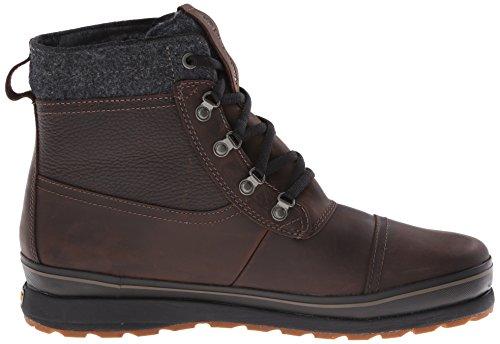 Timberland Schazzberg FTP_Schazzberg Mid WP INS - Botas de cuero para hombre marrón - marrón (Dark Brown)