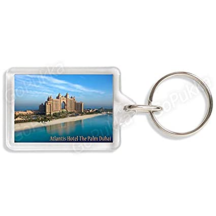 Amazon com : Atlantis Hotel The Palm Dubai Day - Souvenir Keyring