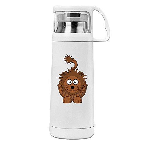 Cartonn Animal Funny Lion Convenient Vacuum Thermos Cups - Tory Symbol Burch