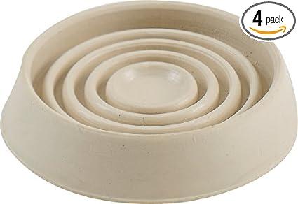Shepherd Hardware 9167 1 3/4 Inch Round Rubber Furniture Cups, 4