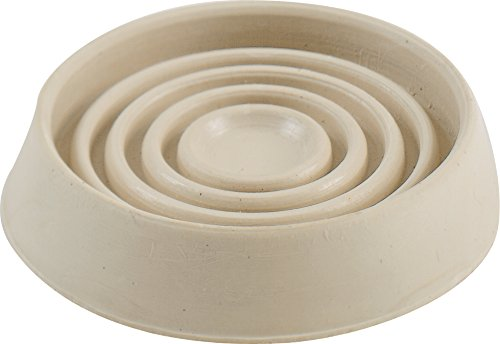 Shepherd Hardware 9167 1-3/4-Inch Round Rubber Furniture Cups, - Hardware Rubber