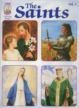 Book Saints Coloring Book by Karen Cavanagh (1998-01-02)