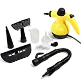 USA Premium Store Multi Purpose Handheld Steam Cleaner 1050W Portable Steamer W/Attachments