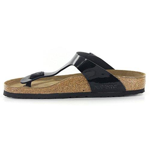 Birkenstock Women's GIzeh Thong Sandal, Black Patent, 38 M EU/7-7.5 B(M) US by Birkenstock (Image #15)