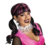 Best Rubie's Costumes Costume Jewelries - Rubies Costume Monster High Draculaura Wig, Pink/Black, One Review