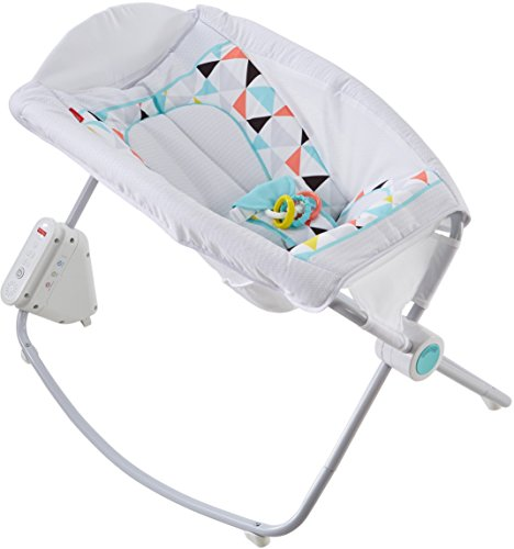 Fisher-Price Auto Rock 'n Play Sleeper, Geo Multicolor
