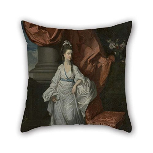 MaSoyy 20 X 20 Inches / 50 by 50 cm Oil Painting Henry Walton - Lady Grant, Wife of Sir James Grant, Bt. Cushion Cases Twin Sides Ornament and Gift -