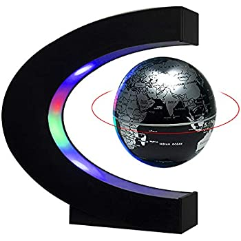 Amazon Com Magnetic Levitation Floating World Map Globe