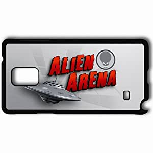 Personalized Samsung Note 4 Cell phone Case/Cover Skin Alien Arena Black
