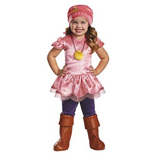 Izzy And Costumes Jake (IZZY Disney Jake and the Never Land Pirates 2T Costume Toddler Girl 2 Dress)