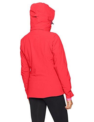 Salomon Chaqueta Rojo W Brilliant Infrared Mujer Jkt rTwqrnaF