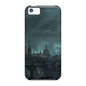 New Style RichJWen London Premium Tpu Cover Case For Iphone 5c
