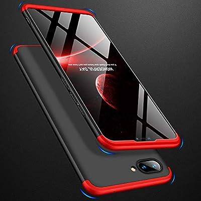 GoodcAcy Funda Xiaomi Mi A1,Carcasa Móvil de Protección de 360°+ Cristal Templado HD Protector de Pantalla 3 en 1 Desmontable con Caso Case Cover para ...