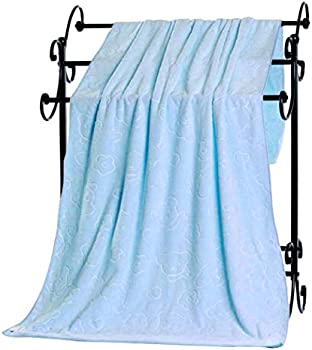 Yenjo Animal Embossed Microfiber Shower Towel