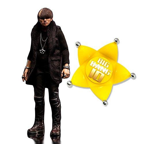 【YG공식】BIGBANG★10주년 기념Amazon한정 특전★DAESUNG(《데손》・D-LITE) FIGURE+SPECIAL EDITION LIGHT STICK HEAD(GOLD) 《데손후규아》 스페셜 에디션 헤드 한정 세트