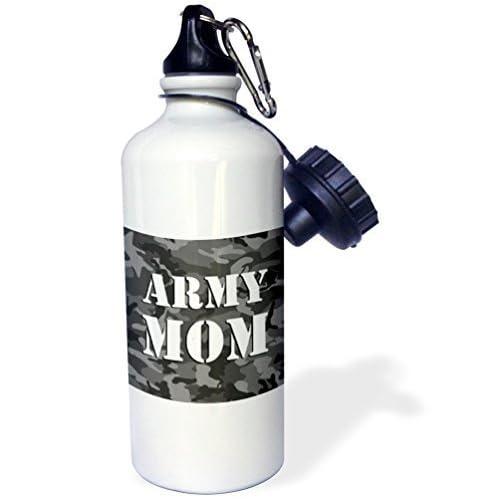 Camouflage Armée Bouteille Liandun Gris Mom Sport D'eau21ozBlanc wknO80PXN