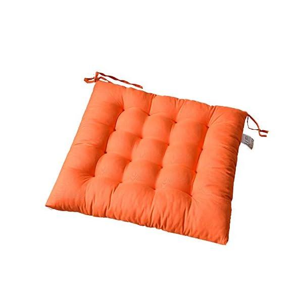 AGDLLYD Cuscino per Sedia, Cuscini per Giardino, per Dentro o Fuori,40x40x5 cm Cuscini da Sedia Trapuntati,Disponibile… 1 spesavip