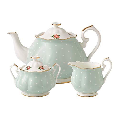Fine Bone China Tea Set - 9