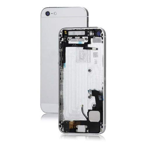 - Best Shopper - Metal iPhone 5 Back Cover Housing Assembly with Middle Frame Bezel and Other Parts - White